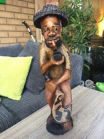 Large Authentic wooden sculpture
