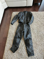 Leather Motorcycle Size Small Shoei Jacket & Ashman Bike Pants