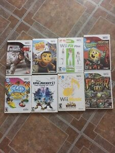 Wii games / accessories