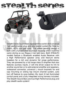 WET SOUNDS  STEALTH Canada Sound Bars Marine Authorized Dealer