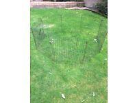 Rabbit guinea pig run / pet run