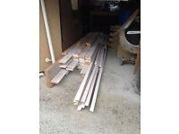 Whitewood Door Stop 12mmx32mm
