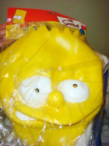 Bart Simpson Vinyl Halloween Mask Kingston Kingston Area image 1