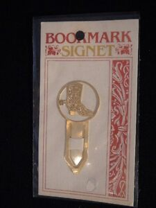 Gold Plated Bookmarks Signet London Ontario image 3