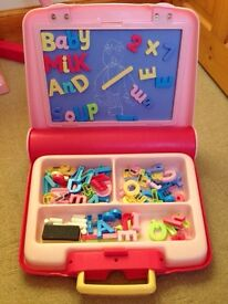 ELC Magnetic Playcentre - pink £10 ono
