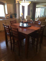 NOW $ 499.00 WAS $ 699.00 ! DINING ROOM TABLE & CHAIRS