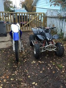 Yz 125 trx 400 ex for sale or trade
