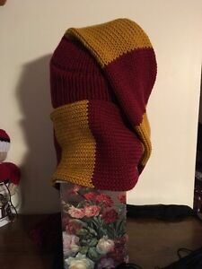 Unisex Harry Potter Inspired Winter Scat (hat n scarf in 1) Kitchener / Waterloo Kitchener Area image 3
