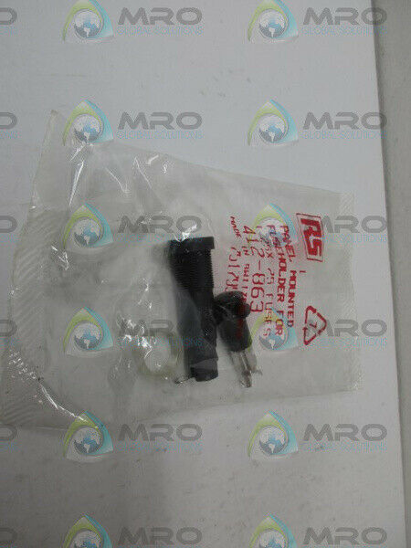 RS COMPONENTS 412-863 FUSE HOLDER *NEW IN FACTORY BAG*