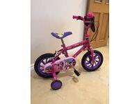 Children's Minnie Mouse pink bike