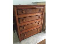 Very large solid chest of drawers