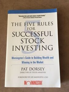 The Five Rules for Successful Stock Investing - Morningstar Southbank Melbourne City Preview