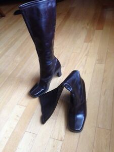 Woman's high brown dressy boots St. John's Newfoundland image 2