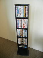 DVD collection + stand