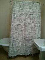 Rideaux de douche  à motifs