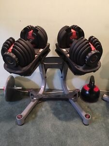 Bowflex Select Tech 552 dumbells Kitchener / Waterloo Kitchener Area image 1