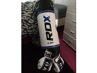 Heavy Duty Kids Boxing Bag and Gloves