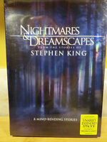 New Stephen King's Nightmares & Dreamscapes DVD
