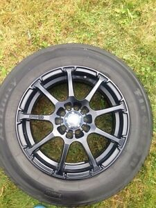 "Selling 15"" wheels 5x114.3 or 5x100"