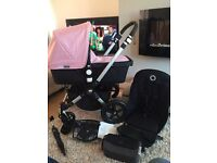Immaculate bugaboo Cameleon 3 (3 cover colours to choose from) pink
