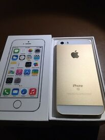 IPHONE 5s Gold colour 16gb 😀👍 Mint condition on EE (txt Chris 07462496929)