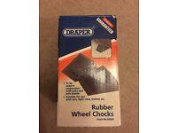 Draper Rubber Wheel Chocks