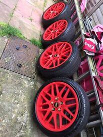 """Alloy wheels 18"""" bbs"""