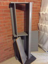 Grey Ikea Liatorp Shelf