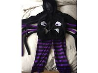 KIDS SPIDER HALLOWEEN COSTUME!!!