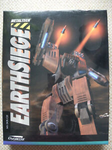 PC Game: Metaltech: EARTHSIEGE. 1994. New & Factory Sealed.