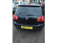 Volkswagen Golf 07 Reg 1.6 FSI