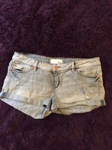 Two pairs of Garage shorts