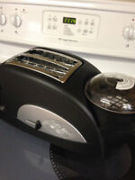 Toaster and Egg cooker