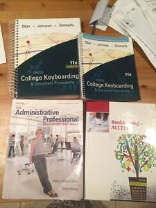 Office administration text books for sale!