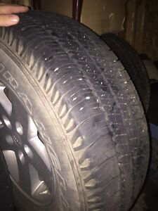 Jeep wrangler winter wheels and tire