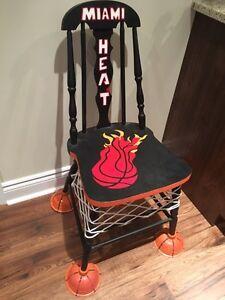 Miami Heat Wade Custom Chair London Ontario image 1