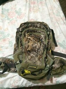 Browning camo backpack