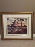 Framed Tom Thomson Limited Edition Print-Jack Pine $70