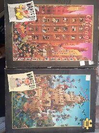 2 x Jigsaw Puzzles