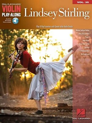 Lindsey Stirling Sheet Music Violin Play Along Book And Audio New 000109715
