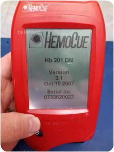HEMOCUE HB 201 DM HEMOGLOBIN ANALYZER ! (276312)