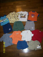 Cherokee & Winks Boys 6-12 month Summer Clothing