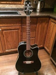 Takamine G Series Acoustic Guitar with stand