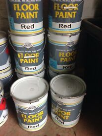 Paint Master Red Floor Paint (20L Drums)