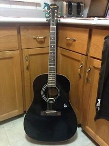 epiphone aj acoustic $130 or trade for bass