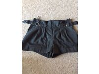 Grey New Look shorts Size 10