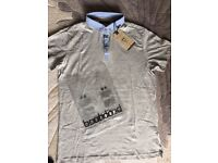 NEW men's brave soul polo shirt