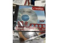 30 x CD-R brand new and sealed with individual cases