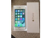 IPhone 6 16gb beautiful white-gold like new in the box !!!
