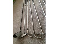 Used full set of golf clubs for sale